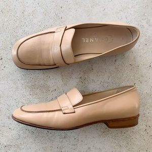 🌾 VINTAGE CHANEL Women's Loafers Shoes size 38